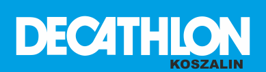 Logo decathlon Koszalin